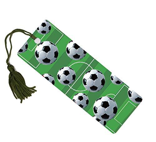 1 x hochwertiges 3D-Lesezeichen mit Fußballmotiv Toller Party-Tütenfüller oder Geschenk für Schüler