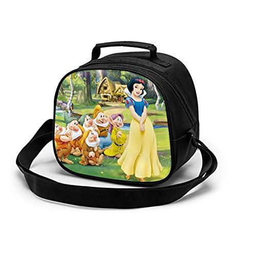 La fiambrera para niños está aislada e impermeable, con correas ajustables para almuerzo, aperitivos y bolsas de picnic