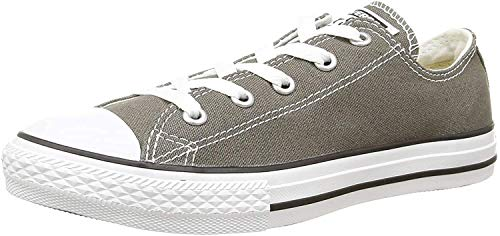 Converse Converse CTAS-OX-Charcoal-YOUTH, Unisex - Kinder Sneaker, Grau (Charcoal), 31 EU
