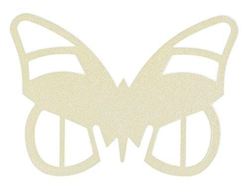 CLUB GREEN Papier Vlinder Plaats Kaarten Ivoor 95X75MM, 15,4 x 13,2 x 1,1 cm