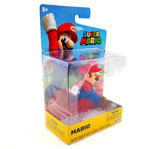 Super Mario Figur Mario - Spiel und Sammelfigur aus der World of Ninendo Figur ca 7 cm