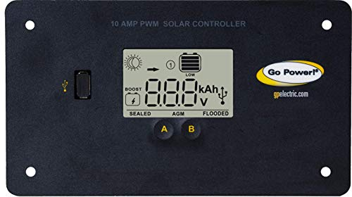 Go Power! GP-PWM-10-FM Digital Solar Controller