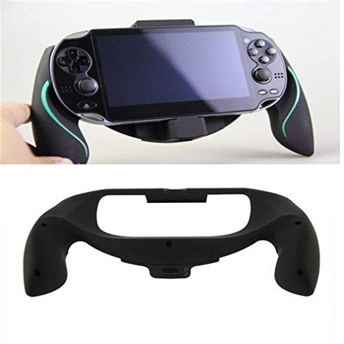 gugutogo Supporto per Impugnatura per Joypad Impugnatura per Impugnatura per Playstation PS Vita novità (Colore: Nero)