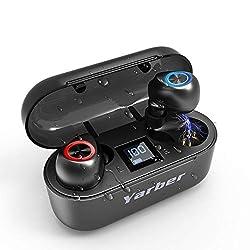 ♫【Dernière puce QUALCOMM QCC 3020】Le écouteurs bluetooth sans fil est équipé de la technologie Bluetooth 5.0 et de la technologie de réduction du bruit numérique CVC 8.0, qui peuvent éliminer efficacement le bruit externe, d'un microphone intégré de ...