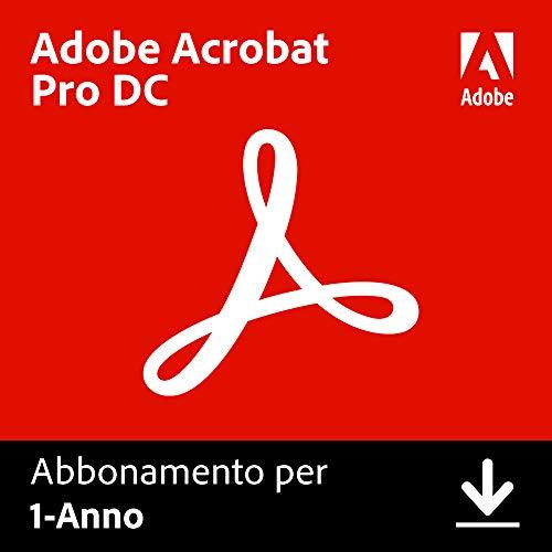 Adobe Acrobat DC | Pro | 1 Anno | PC/Mac | Codice d'attivazione via email
