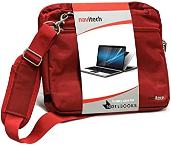 Navitech Red Premium Messenger/Carry Bag Compatible with The Acer C720p-2625 11.6in Touchscreen ChromeBook