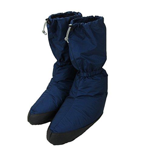 イスカ テントシューズ ロングL Tent Shoes Long L 2231-21 ネイビーブルー ダウン 防寒 Men'sLady's