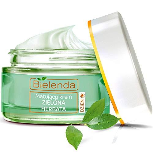 BIELENDA GRÜNER TEE Anti- AKNE mattierende Tagescreme Fettige Haut und Mischhaut 50 ml