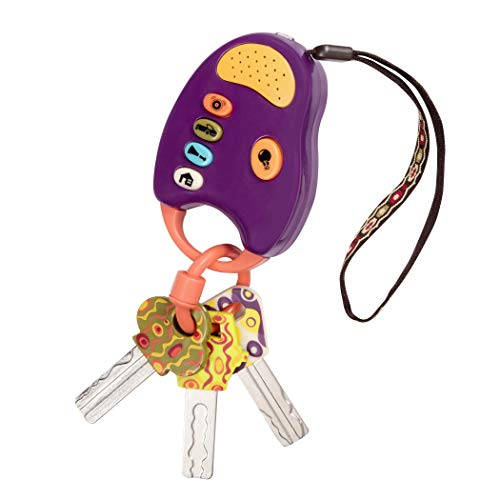B. toys – FunKeys Toy – Funky Toy Keys for Toddlers and Babies – Toy Car...