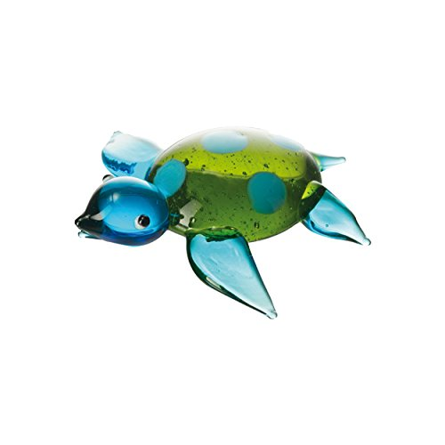 LEONARDO HOME Schildkröte 6 blau/grün MARE