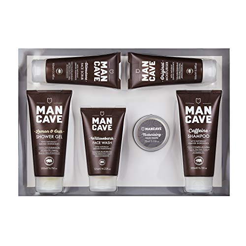 ManCave Survival Gift Set - 6 Natural Grooming Essentials
