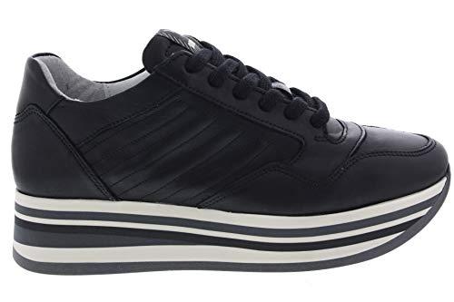 Via Vai Dames Sneakers Mila Nero Zwart - größe 39