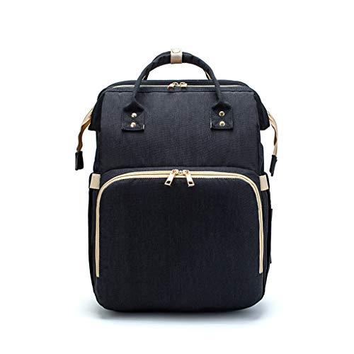 XINGYUE Mochila cambiador de bebé, mochila de viaje con cambiador de correas para cochecito de bebé, bolsa húmeda