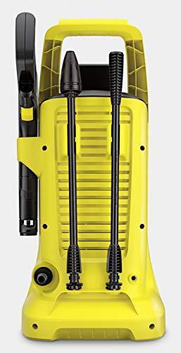 Kärcher Akku Hochdruckreiniger K 2 Battery (Druck: 110 bar, Fördermenge 340 l/h, 2 Strahlrohre, Wasseransauganschluss, 4 m Schlauch, bequem verstaubar, Quick-Connect) - 3