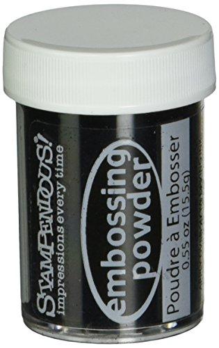 Stampendous 0,5Oz Detail Embossing-Puder, Schwarz Blickdicht