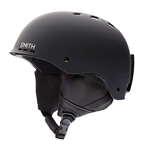 SMITH Herren Helm Holt Skihelm, Schwarz matt, M/55-59
