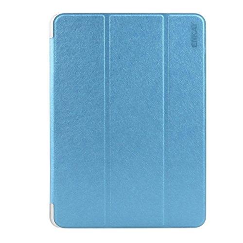 Smart cover per Samsung Galaxy Tab S2 9.7 T810 Azzurro + Pellicola + Pennino + pannetto firmato Digital Bay