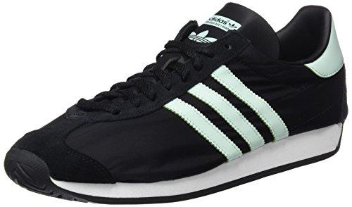adidas Country OG, Zapatillas para Hombre, Negro (Core Black/Ice Mint/Vintage White/St), 41 1/3 EU