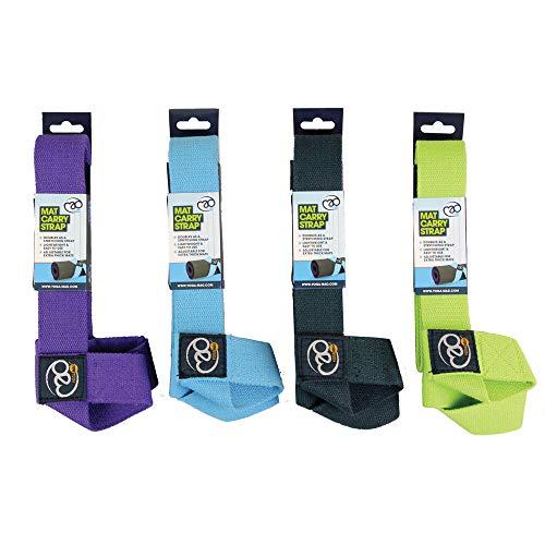 Yoga Mad Belt & Mat Carry Correa cinturón de Yoga, Unisex Adulto, púrpura, una Talla