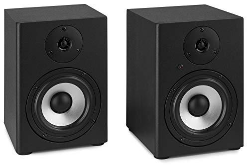 Vonyx SM50 Set di Casse Monitor da Studio - 2 Vie, Potenza: 140 Watt...
