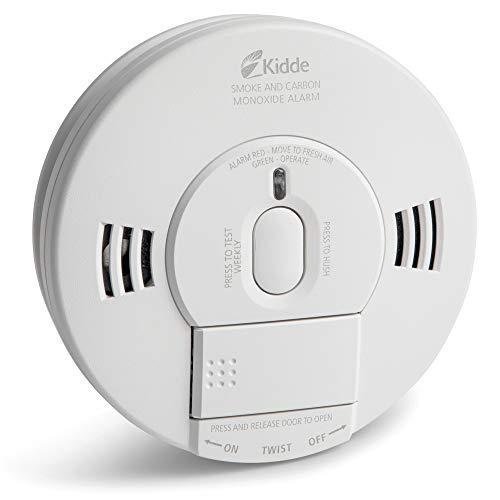 Kidde Smoke & Carbon Monoxide Detector, Hardwired, Interconnect Combination Smoke & CO Alarm with Battery Backup, Voice Alert