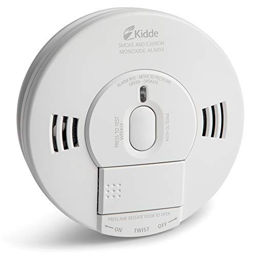 Kidde KN-COPE-IC AC Photoelectric Smoke and Carbon Monoxide Detector Alarm Hardwired With Battery Backup