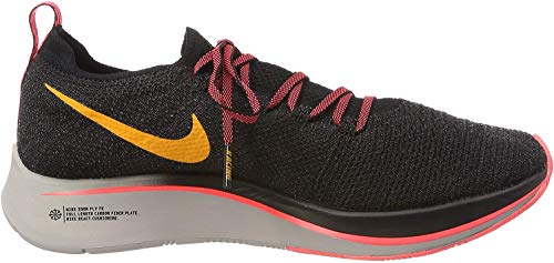 Nike Herren Zoom Fly Flyknit Laufschuhe, Mehrfarbig (Black/Orange Peel/Flash Crimson 068), 40 EU