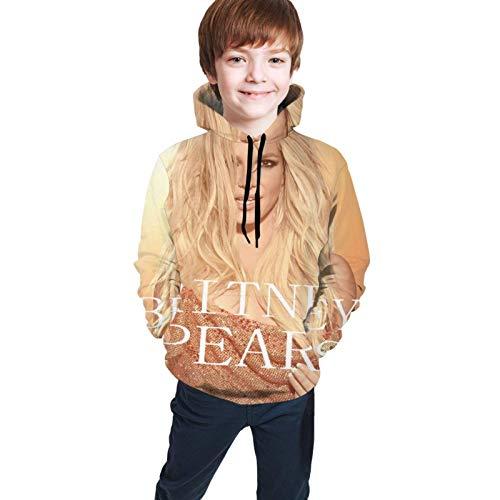 Yaxinduobao Britney Spears Niños Niñas Impresión 3D Casual Pullover Sudaderas con Capucha Sudaderas Tops Blusa con Bolsillo 7-20y
