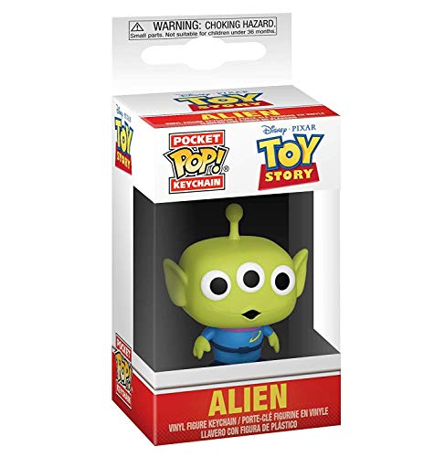 Funko-Pocket Keychain: Toy Story: Alien Pop Llavero