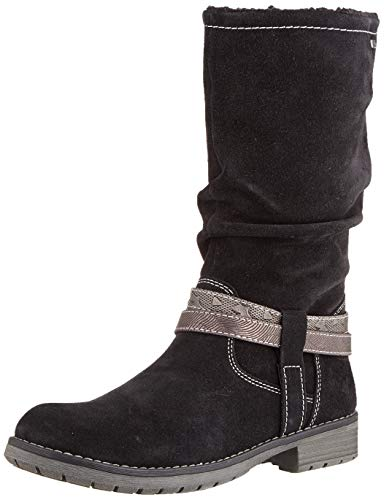Lurchi Damen LIA-TEX Hohe Stiefel, Schwarz (Black 21), 36 EU