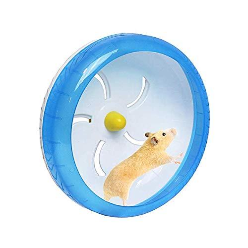 POPETPOP Silent Hamster Wheel-Pets Laufen Sportübungsrad Joggingrad Hamster Ratte Gerbil Silent Spinner