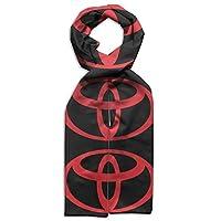 トヨタのシンボル 暖かくてファッショナブルな子供用両面プリントスカーフ