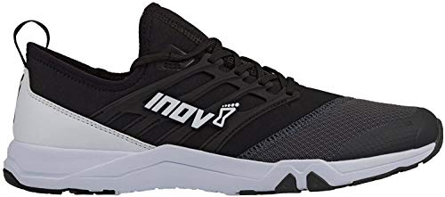 Inov-8 F-Train 240 - Ultimate High Intensity Interval Training Shoes - Functional Training Shoe for HITT and Gym Workouts - Black/Grey M6.5/ W8