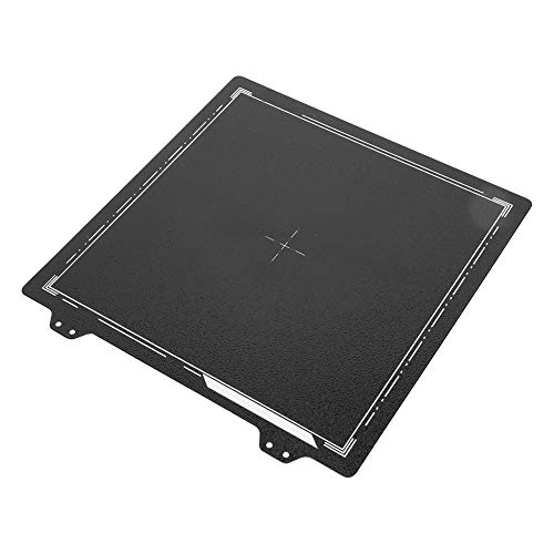 【𝐒𝐩𝐫𝐢𝐧𝐠 𝐒𝐚𝐥𝐞 𝐆𝐢𝐟𝐭】 Durable Steel Sheet, Spring Steel Sheet, 3D Printer Accessories Powder Steel Plate for Cr-20 Tronxy Xy-2 Prusa Anet