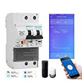 El disyuntor inteligente WiFi 2P de segunda generación con monitoreo de energía y...