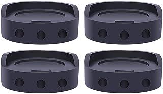 CJBIN Tapis Anti Vibration Machine a Laver, 4 Pièces Tapis Anti Bruit Patins Anti Vibration Tampon pour Machine à Laver Am...