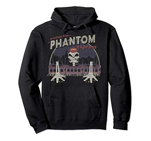 Cuphead Greetings From The Phantom Express Pullover Hoodie