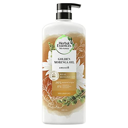 Herbal Essences Bio:Renewgolden Moringa Oil Smoothing Shampoo For Frizzy Hair 600ml