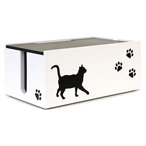 宮武製作所『猫のケーブルBOX』