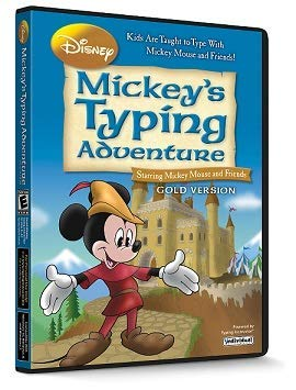 Disney Mickey's Typing Adventure Gold