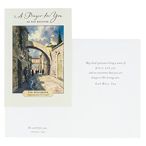 DaySpring Thomas Kinkade - Get Well - Inspirational Boxed Cards - God's Strength - 74869,Multi Color Photo #4