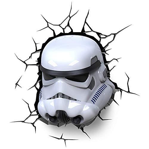 3D Deco Light- Star Wars Lámpara Decorativa (Eurobric 2000 3D Light FXGIFEBC013-cr)