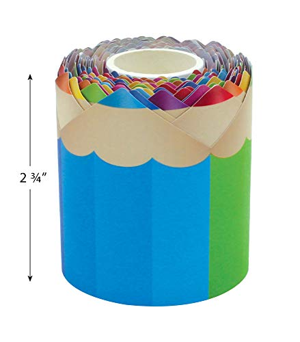Colored Pencils Die-Cut Rolled Border Trim Photo #5