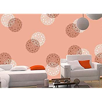 Buy Gallerist Diy Wall Painting Stencil Beautiful Flower Design Wall Stencils For Wall Painting 1 Stencil Size 12x12 Inches Reusable Online At Low Prices In India Amazon In