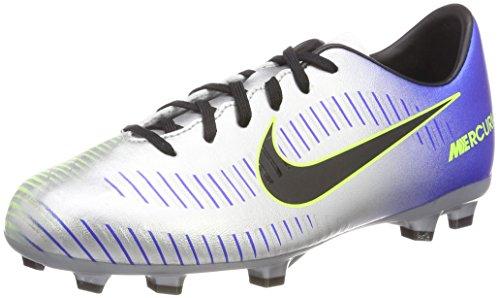 Nike Unisex-Erwachsene Jr Mercurial Victory VI Neymar FG Fitnessschuhe, Mehrfarbig Racer Blue Black Chr 407, 38.5 EU