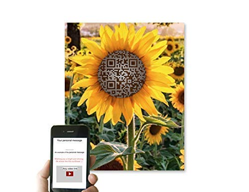 Sunflower Gift Ideas 国内即発送 アウトレット☆送料無料 Personalized Any A Code QR Artist Song