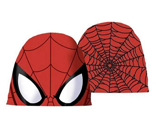 Chapeau Spiderman avec enveloppe cadeau Veste de 3 à 7 ans hiver 2020