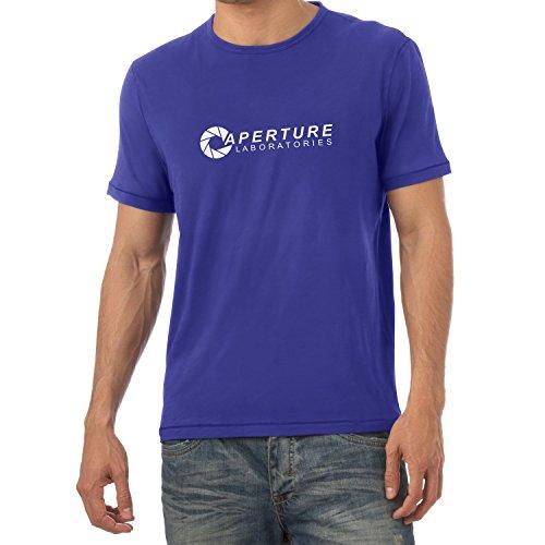 Nexxus Aperture Laboratories - Herren T-Shirt, Größe M, Marine
