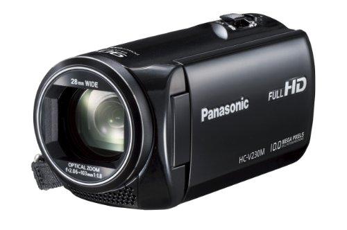 パナソニック デジタルハイビジョンビデオカメラ 内蔵メモリー8GB ブラック HC-V230M-K