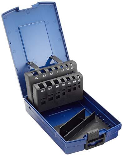 Bohrcraft 00811520014de la Industria de plástico caja azul oscuro MGB de 14K vacíos de 14piezas para MGB DIN 371/376+ spibo DIN 338
